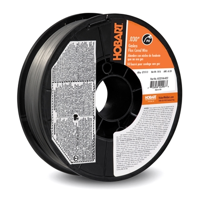 "HOBART .030"" E71T-11 10LB FLUX-CORED WELDING WIRE"