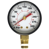 "CAMPBELL HAUSFELD 1/4"" 300 PSI AIR GAUGE (GR002000AJ)"
