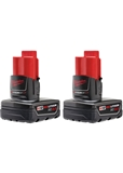 M12™ 12 Volt Lithium-Ion XC Extended Capacity Battery 3.0Ah Amp (2-Pack)