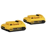 BATTERY 20V COMPACT ION 2 PACK