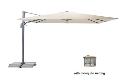 UMBRELLA OFFSET W/NET 6'X10'