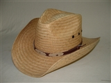 """MEXICAN"" PALM STRAW COWBOY HAT"