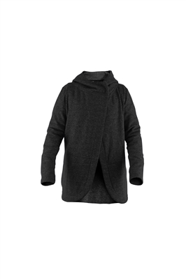 SWEATSHIRT WM YOGA WR BLK L