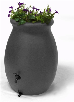 CASTILLA 50 GALLON GREY RAIN BARREL