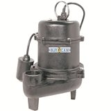 PUMP SEWAGE 1/2HP 5Y WARRANTY