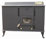 Multi Fuel Stove with Vent System