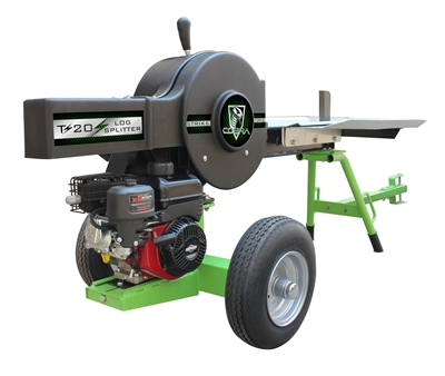 20T KINETIC LOG SPLITTER WITH BRIGGS & STRATTON ENGINE