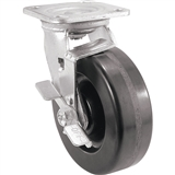 "10"" X 2 1/2"" SWIVEL CASTER PHENOLIC BRAKE"