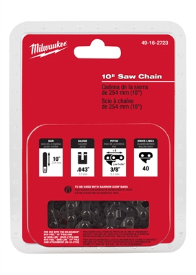 10 in. Saw Chain Replacement Chain For Pole Saw