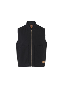 MEN'S COTTON DUCK CANVAS VEST