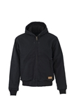 MEN'S COTTON DUCK CANVAS HOODED JACKET