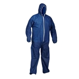 COVERALL FF DISPOSABLE 25PK BLU 2XL