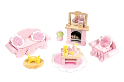 FURNITURE SET DOLLHOUSE DL