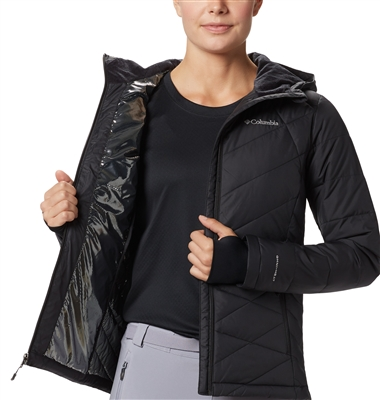 JACKET CLB WM PUFF OMNI BLK M