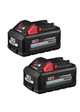 M18™ 18 Volt Lithium-Ion REDLITHIUM™ HIGH OUTPUT™ XC6.0 Amp Battery Pack (2 Pack)