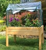 Elevated Wood Gardening Bed