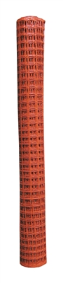 6' X 50' QUEST BRANDS ORANGE SAFETY FENCE