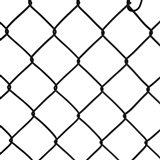 "48"" X 50' NEW TREND 9 GAUGE BLACK CHAINLINK FENCE"