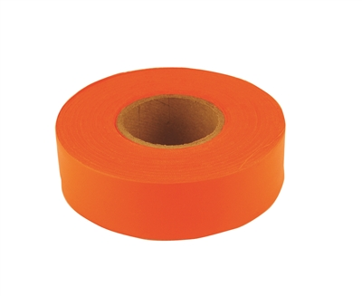 150' C.H. HANSON ORANGE FLUORESCENT FLAGGING TAPE