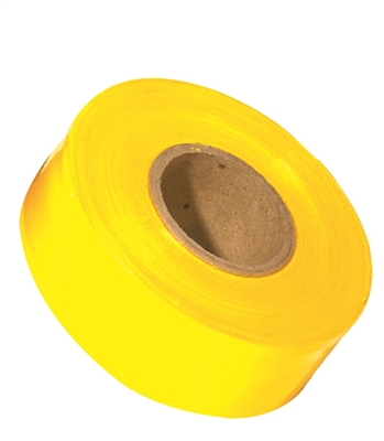 150' C.H. HANSON YELLOW FLUORESCENT FLAGGING TAPE