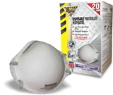 20 PACK DUST MASK RESPIRATOR