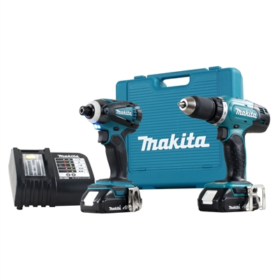 18V LITHIUM ION DRILL/DRIVER & IMPACT DRIVER KIT