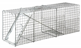 "32"" X 12"" X 10"" SINGLE PACK LIVE ANIMAL TRAP"
