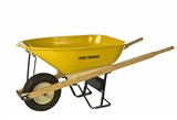 6 CU.FT. HEAVY DUTY CONTRACTOR WHEELBARROW