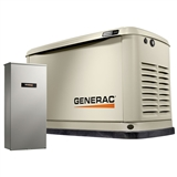 13KW GENERAC HOME STANDBY UNIT GENERATOR WITH AUTOMATIC TRANSFER SWITCH