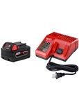 MILWAUKEE M18 5.0AH STARTER KIT