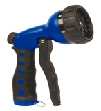 NOZZLE 7 PATTERN PUSH BLUE