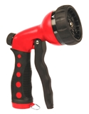NOZZLE 7 PATTERN PUSH RED