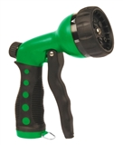 NOZZLE 7 PATTERN PUSH GREEN