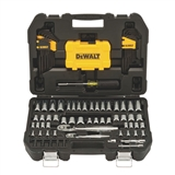 DEWALT 108 PIECE SOCKET SET