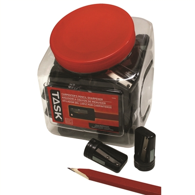 SHARPENER FOR CARPENTER PENCILS - 60 PER COOKIE JAR DISPLAY
