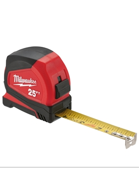 TAPE MEASURE 25FT COMPACT