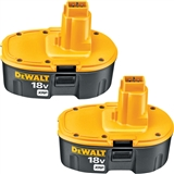 BATTERIES 2 PK DEWALT 18V XRP