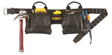 DEWALT 12 POCKET LEATHER TOOL BELT