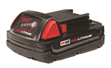 M18™ 18 Volt Lithium-Ion Cordless REDLITHIUM™ Compact 2.0 Amp Battery Two Pack