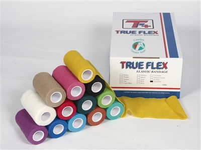 TRUFLEX DISPOSABLE ELASTIC BANDAGE WHITE