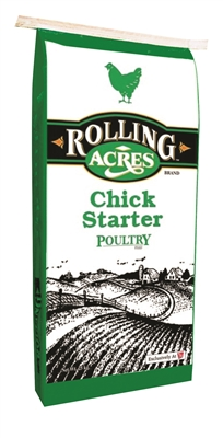25KG ROLLING ACRES CHICK STARTER POULTRY FEED