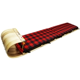 STREAMRIDGE GRIZZLY 6 FOOT TOBOGGAN WITH DELUXE PLAID PAD