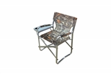 CAMO DECK CHAIR WITH TRAY