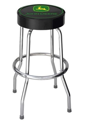 GARAGE STOOL JOHN DEERE GREEN