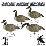 4 PACK STORM FRONT GOOSE DECOYS