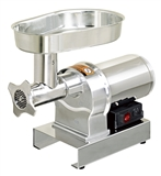 GRINDER MEAT STAINLESS 1/3HP