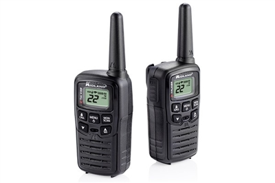 MIDLAND 2-WAY 20 MILE RADIOS