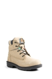 "WOMEN'S 6"" BLUE SAFETY WORK BOOTS"