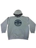 HOODIE FLEECE GREY XL