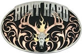 Tri Color Hunt Hard Attitude Buckle